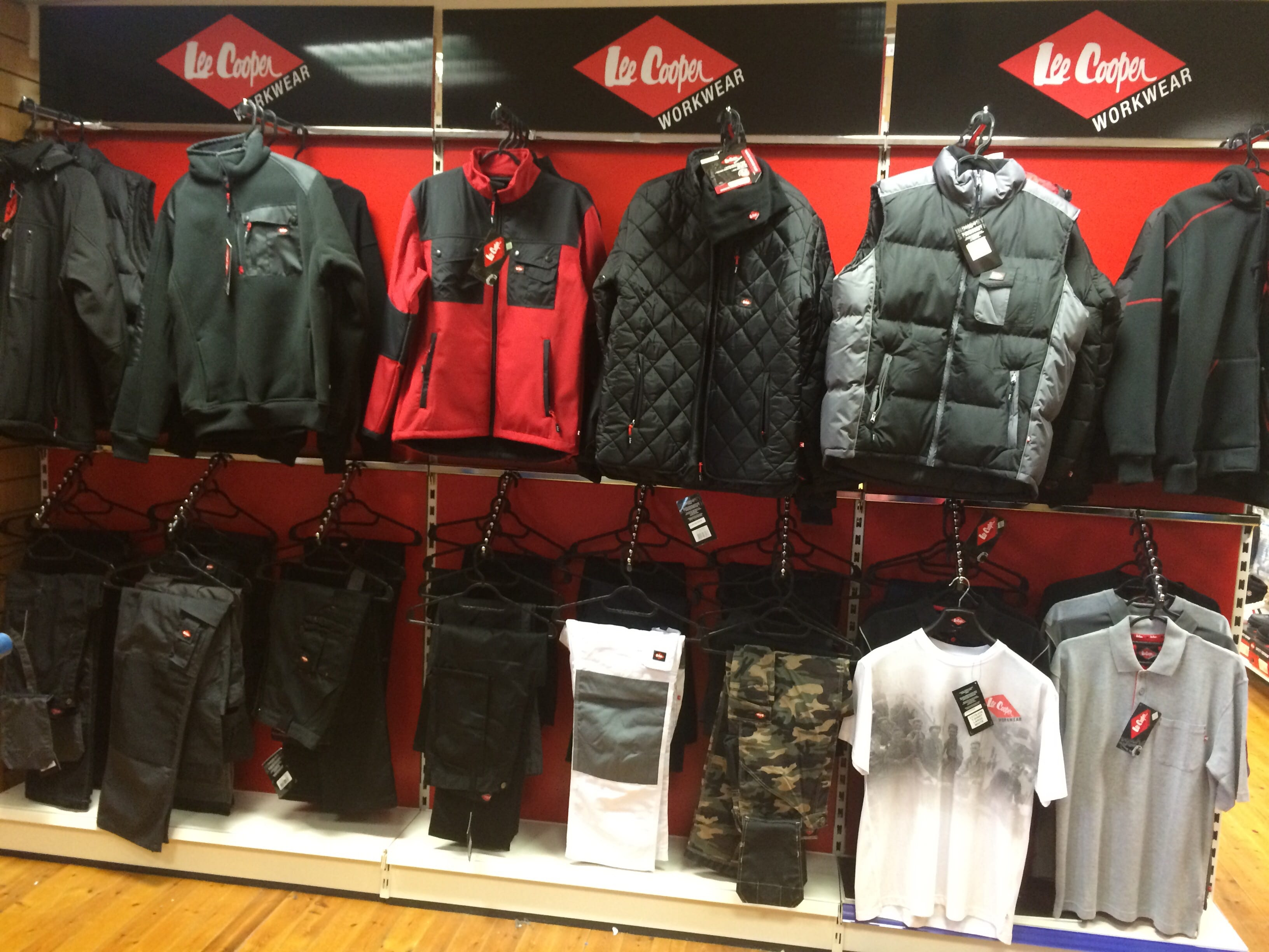 Lee Cooper Stand
