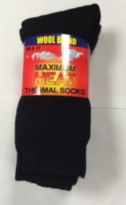 max heat thermal sock