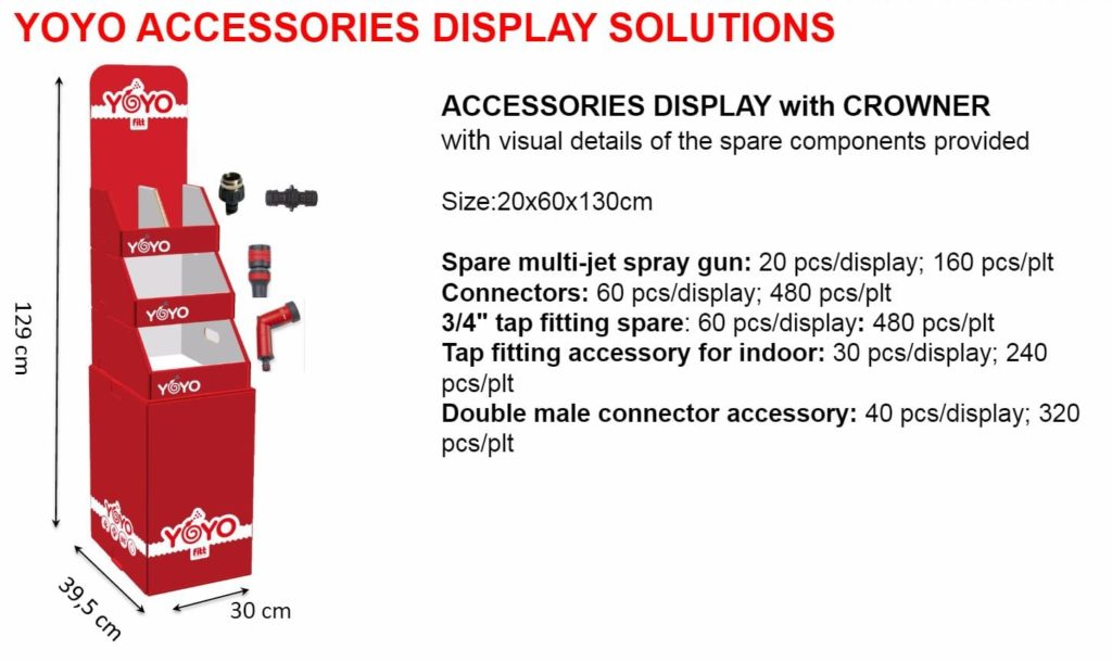 yoyo accessories display solutions 2