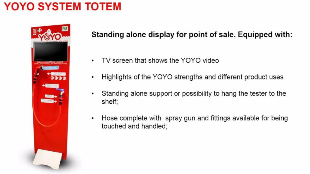 yoyo system totem