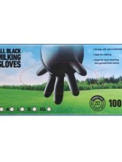 Disposable Dairy Gloves Black1