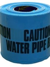 Caution Warning Tape Blue 365Mtr Roll – Water Pipe