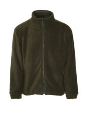 Glen HeavyweightPadded Fleece Olive Green