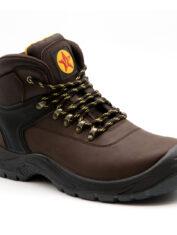 Westaro Bandit S1P Brown Hiker Boot
