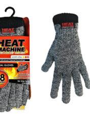 Heat Machine 2142 Thermal Gloves Grey Marl