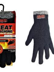 Heat Machine 2143 Thermal Gloves Black Marl